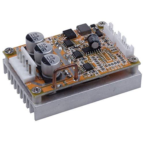 CAIJINJIN Módulo Módulo controlador Junta BLDC sin sensores 5-36V sin escobillas de control de motor Motor Regulador 350W Monitor de Alta Potencia del motor del regulador de velocidad con el disipador