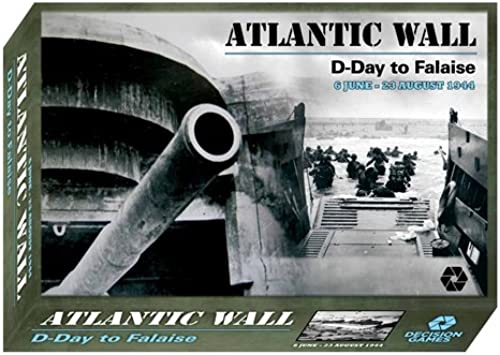 Dg Entscheidung Spiele Dg  Atlantik Wand, D-Day Zu Falaise, 6 Juni - 23 August 1944, Brettspiel, 2. Edition