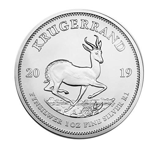 2019 Moneda de plata krugerrand sudafricana, 1 onza