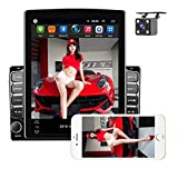 """Double Din Android Car Stereo 9.7"""" HD Touch Screen Car Radio Bluetooth WiFi GPS FM Radio Receiver Support Android/iOS Phonelink, Rear View Camera Input, SWC, 2 Rear USB Car MP5 Player + Backup Camera"""