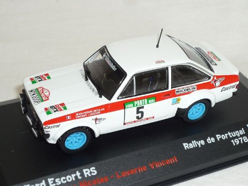 Altaya by Ixo Ford Escort RS Nicolas Portugal 1978 Rallye Rally 1/43 Modellauto Modell Auto