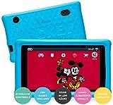 "Pebble Gear Disney Kids Tablet 7"" Mickey and Friends Kinder Tablet mit kindgerechter Hülle / stoßfester Bumper, elterliche Kontrolle, Blaulichtfilter, 500+ Spiele, Apps, E-Books, Wi-Fi, 16 GB"