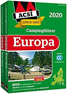 ACSI Internationaler Campingführer Europa 2020: in 2 Bä