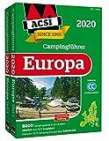ACSI Internationaler Campingführer Europa 2020: in 2 Bänden inkl. Ermässigungskarte und ACSI Camping Europa-App Rabattcode. (Hallwag Promobil)