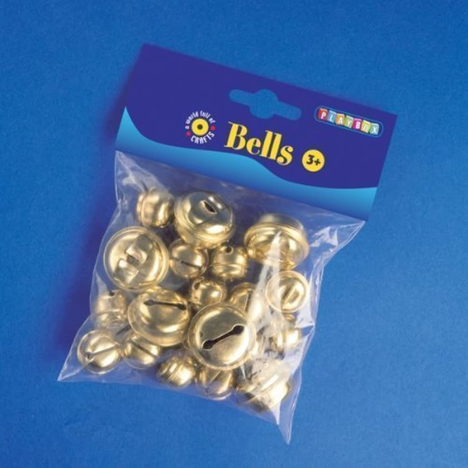 Playbox 20  30mm Bells (20 Pieces) by Playbox