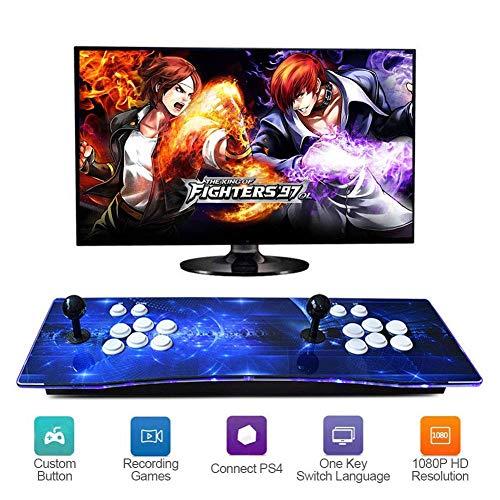 ZQYR GAME# Console de Jeux vidéo 3D Console de Jeux 2350 Jeu rétro 1080P Machine d'arcade rétro CPU avancé Boutons personnalisés Liste Intelligente, Model: BZ-7648