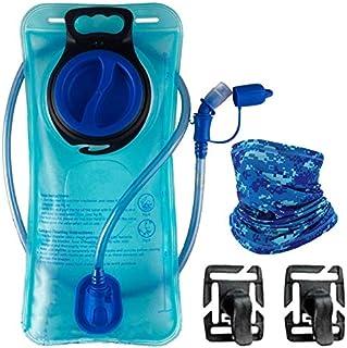 Hydration Bladder BPA Free Water Storage Bag Leak Proof TPU Water Reservoir for Camping Cycling Hiking Biking Climbing Run...
