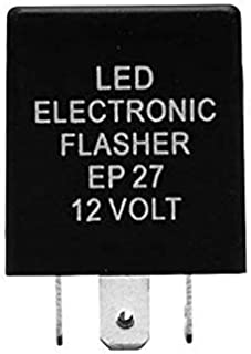 ZHParty 5 PIN EP27 LED Flasher Relay for Bulb LED Turn Signal Fix for Fast Hyper Flash Compatible for FORD TRUCK 1997-12 Ford-F150, 1998-11 Ford Ranger, 1999-10 Ford F-250,F-350,F-450 Super Duty, 2000