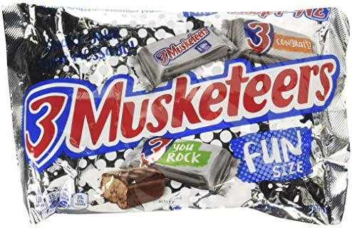 3 Musketeers Fun Size Bars 10 48 oz Bag 2 pack product image