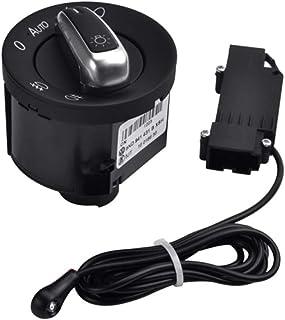 Coomir Auto Lichtschalter mit Chrome Auto Sensor Licht 5ND941431B