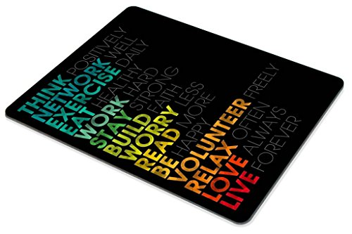Smooffly Gaming Mouse Pad Custom,Inspirational Quotes Mouse pad 9.5 X 7.9 Inch (240mmX200mmX3mm) Photo #5