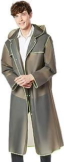 Poncho Rainwear for Adult,Reusable Waterproof Rain Poncho Emergency Rain Coat with Reflective Tape EVA Ruinsuit