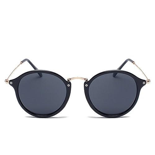 b140420b116a Y-H Unisex Colorful Trendy Retro Style Sunglasses(C1)