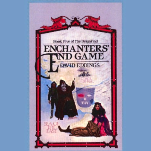 Enchanters' End Game audiobook cover art