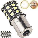 Super Bright 1156 1141 1003 LED Bulbs for Trailer Camper RV Interior Lighting, Car Back Up Reverse Lights, Brake Lights, Tail Lights, Rear Turn Signal Lights, (Pack of 10, 3500K Natural White)