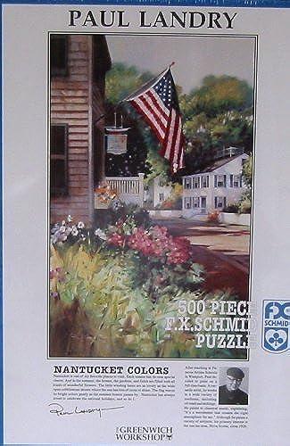 precio razonable Paul Landry 500pc. Puzzle-Nantucket Colors by FX Schmid Schmid Schmid  Los mejores precios y los estilos más frescos.