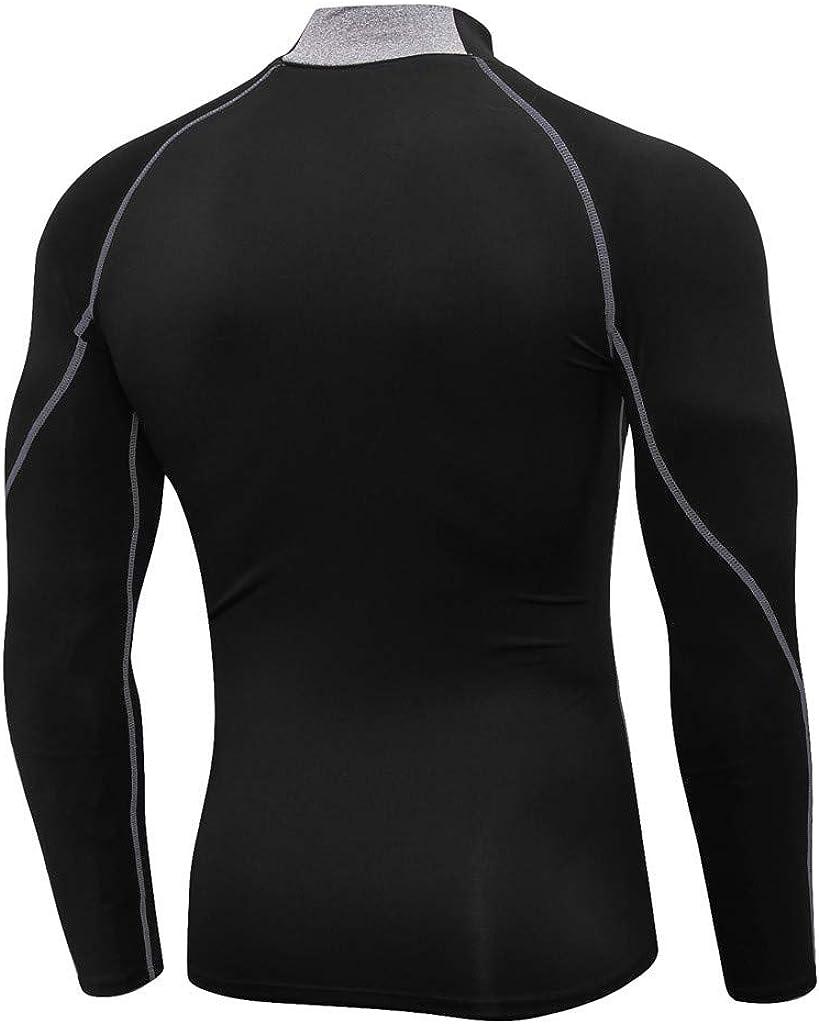 RANTA 2020 Herren Funktionsshirt Langarm Kompressionsshirt Unter 5 Euro Sportunterw/äsche Funktionsunterw/äsche Unterhemden M/änner Laufshirt Kompression Compression Shirt
