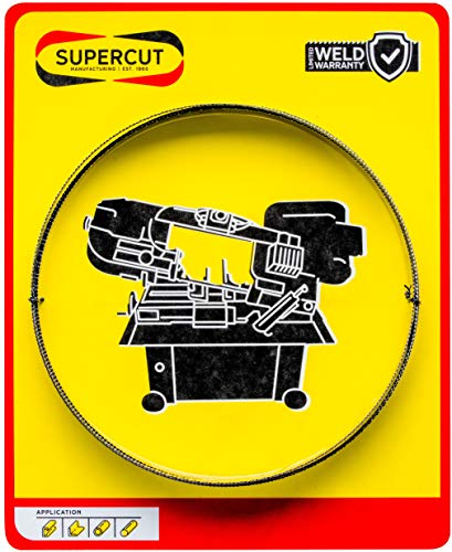 Supercut Made in The USA Band Saw Blade 93-inch X 3/4-inch X .032-inch, 14 TPI Carbon Tool Steel Blade for Cutting Mild Steel, Wood, and Other Materials