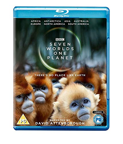 Seven Worlds, One Planet [Blu-ray]
