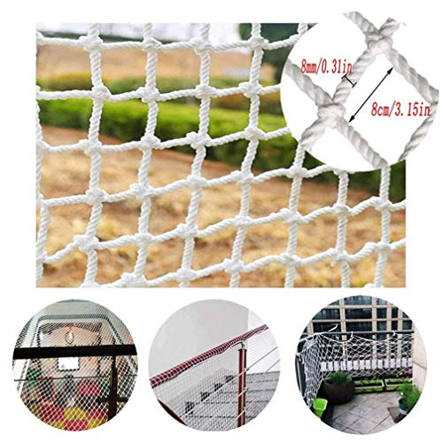 New Bird Rope Net Kids Safety Net,Children's Anti-fall Nets Stairs Protection Net Pet Cat Hotel Re...