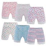 Anntry Pantalones Cortos de Ciclismo de Color sólido para niñas de 2 a 12 años Bragas de Vestir de Seguridad Boyshort para niños pequeños Paquete de 6 Ropa Interior (Estilo2, 12-14 años)