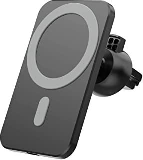 CSN 15W Magnetic Wireless Car Charger Holder for iPhone 12/ iPhone 12Mini/ iPhone 12 Pro/iPhone 12 Pro Max, Magsafe Fast C...