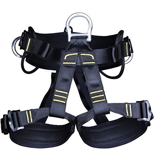 JTSYUXN Outdoor Klettergurt Taille Hüfte Schutz Sicherheitsgurt für Fallschutz Steigschutz