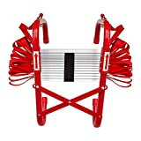 Firechief FEL730 3 Storey Foldable Fire Escape Ladder With Extra Wide Treads