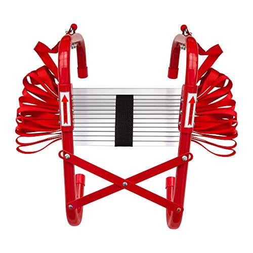 Firechief Fire Escape Ladder For Home Use | Compact Lightweight Ladder For...