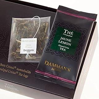 Dammann Freres Tee - JAUNE LEMON Grüner Tee - 24 Cristal Teabags