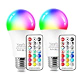 Best Led Lights Bulbs - RGB Led Light Bulbs 10W Color Changing Light Review