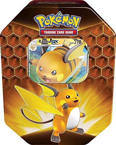 Unbekannt Pokemon - 1x Raichu GX TIN Box - Herbst 2019 Tin - Deutsch