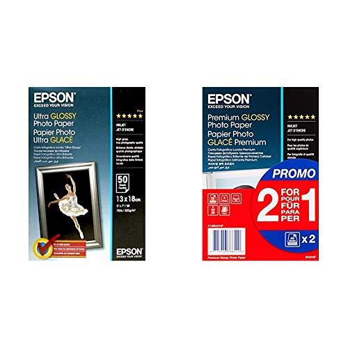 Papel Fotografico Epson 13X18 Marca Epson