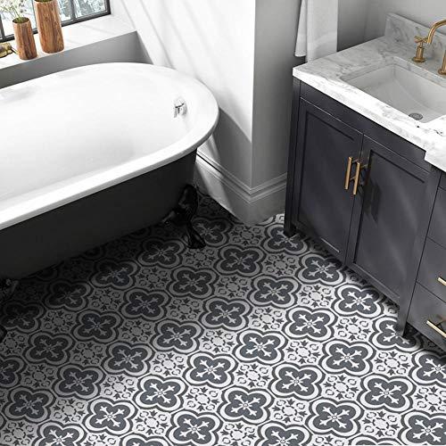 Liteness - Adhesivos para suelos de ladrillos de estilo europeo, diseño creativo sin costuras, impermeables, adhesivos de pared para azulejos de pared