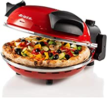 Ariete 909 pizza in 4 minuti, Forno per pizza, 400 gradi, Cuoce in 4', Piastra in pietra refrattaria 33 cm di diametro,...