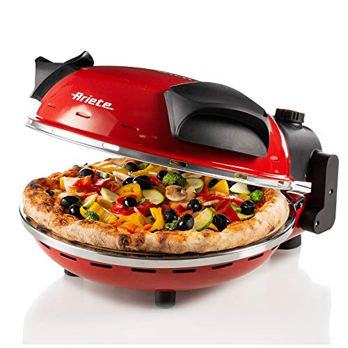 Ariete 909 Machine for Making Pizza Party da gannaro-909, red
