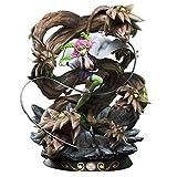 Wuhuayu Figura Kimetsu no Yaiba - Estatua De Resina De Mitsuri Kanroji Hecha A Escala 1/6, 45 Cm (17,7 Pulgadas) De Alto, Estatua De Figura Senior Y Delicada, 520 Unidades Vendidas En Todo El Mundo