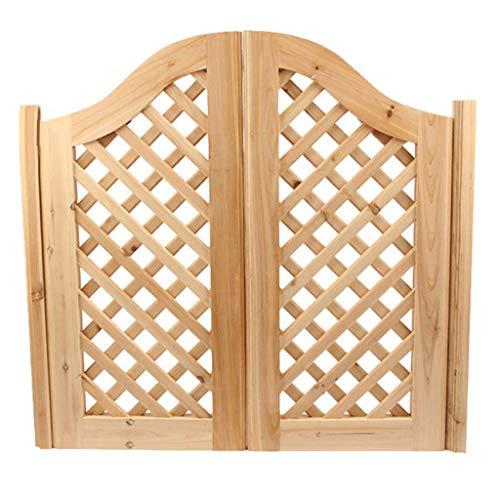 Mesa montada en la pared Puerta valla jardín Puertas cafébatientes, interior madera maciza Puerta entrada con cierre automático Puerta salón para bar, pub, terraza, cocina, partición bidirec
