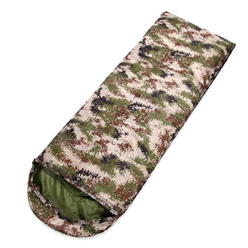 WLA Mummy Schlafsäcke Einzel Menschen Camping Schlafsack Warm & BreathableLightweight Ideal Campingausrüstung for Scouts Wandern