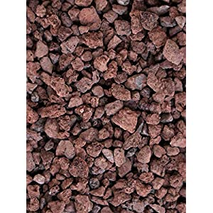 Gravilla Volcanica (Big bag de 1.000 kg.) (6-12 mm., Roja): Amazon.es: Jardín