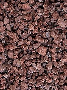 Grava Volcánica Roja decorativa en sacas de 700Kg Disponible en formato 10-20mm y 25-40mm (25-40mm)