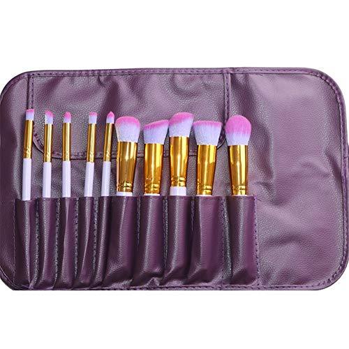 Sets de pinceaux de Maquillage Maquillage Set Brush Cinq Big Five Petit Brosse De Maquillage 10 Multi-Fonctionnelle Kit De Maquillage Brosse Outils De Maquillage Portable Brosse À Maquillage