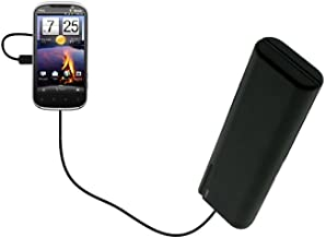 Gomadic Portable Emergency AA Battery Charger Extender Suitable for The HTC Amaze 4G Brand TipExchange Technology