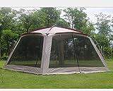 sjdxd Tente de Plage Tente extérieure Anti-moustiques 5-8 Personnes Camping Loisirs Parasol...