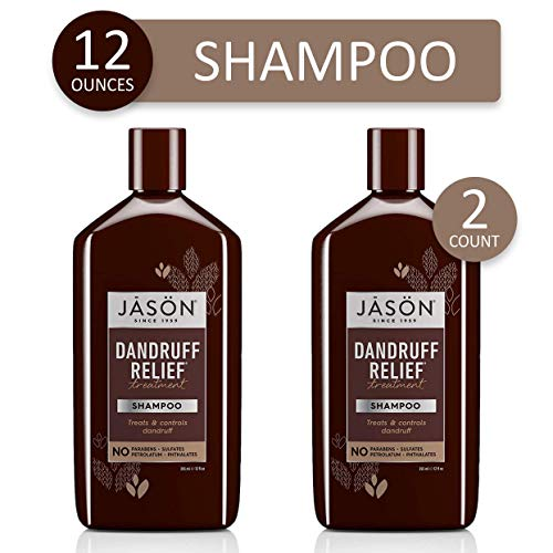 Jason Dandruff Relief Treatment Shampoo 12 oz (Pack of 2)