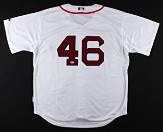 Craig Kimbrel Autographed Signature Red Sox Jersey - PSA/DNA Certified Authentic