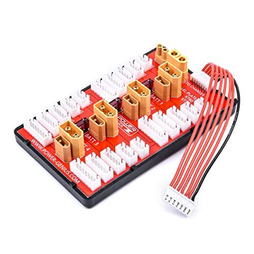 Readytosky XT30 XT60 RC Lipo Battery Parallel Charging Board 2 in 1 2S-6S Lipo Battery Parallel Balanced Charging Plate
