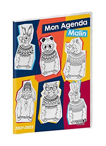 Quo Vadis Mon Agenda settimanale malin Seminier CM1-CM2 21 x 29,7 cm Eco friendly anno 2021-2022