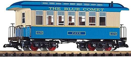 Piko 38621 - G Personenwagen CNY Blau Comet 1174 Faye