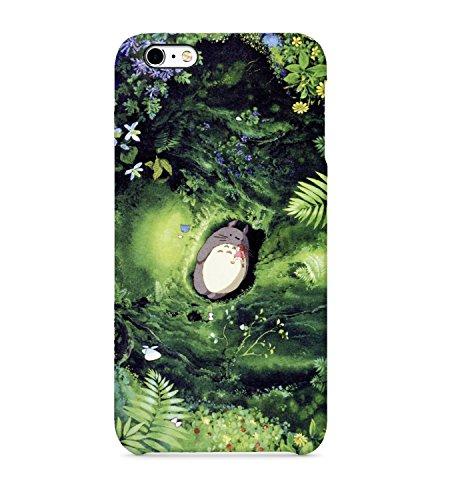 Totoro - Carcasa rígida de plástico para iPhone, Samsung Galaxy y Huawei, plástico, Huawei P9 Lite